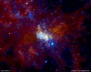 The center of the Milky Way in X-rays