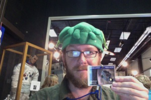 Cthulhu at NASA Wallops, for the LADEE launch last weekend. (I didn't wear the hat the whole time. I'm not that weird.)