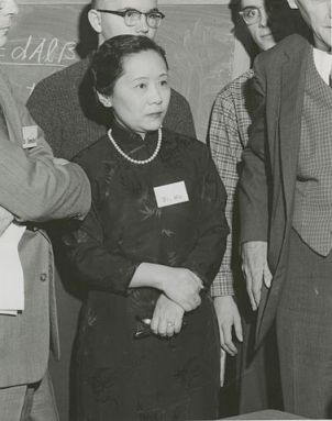 The great physicist Chien-Shiung Wu in 1958. [Credit: Smithsonian Institution]